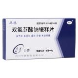 雙氯芬酸鈉緩釋片(路林)