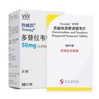 HIV阻斷劑方案:舒發泰+特威凱