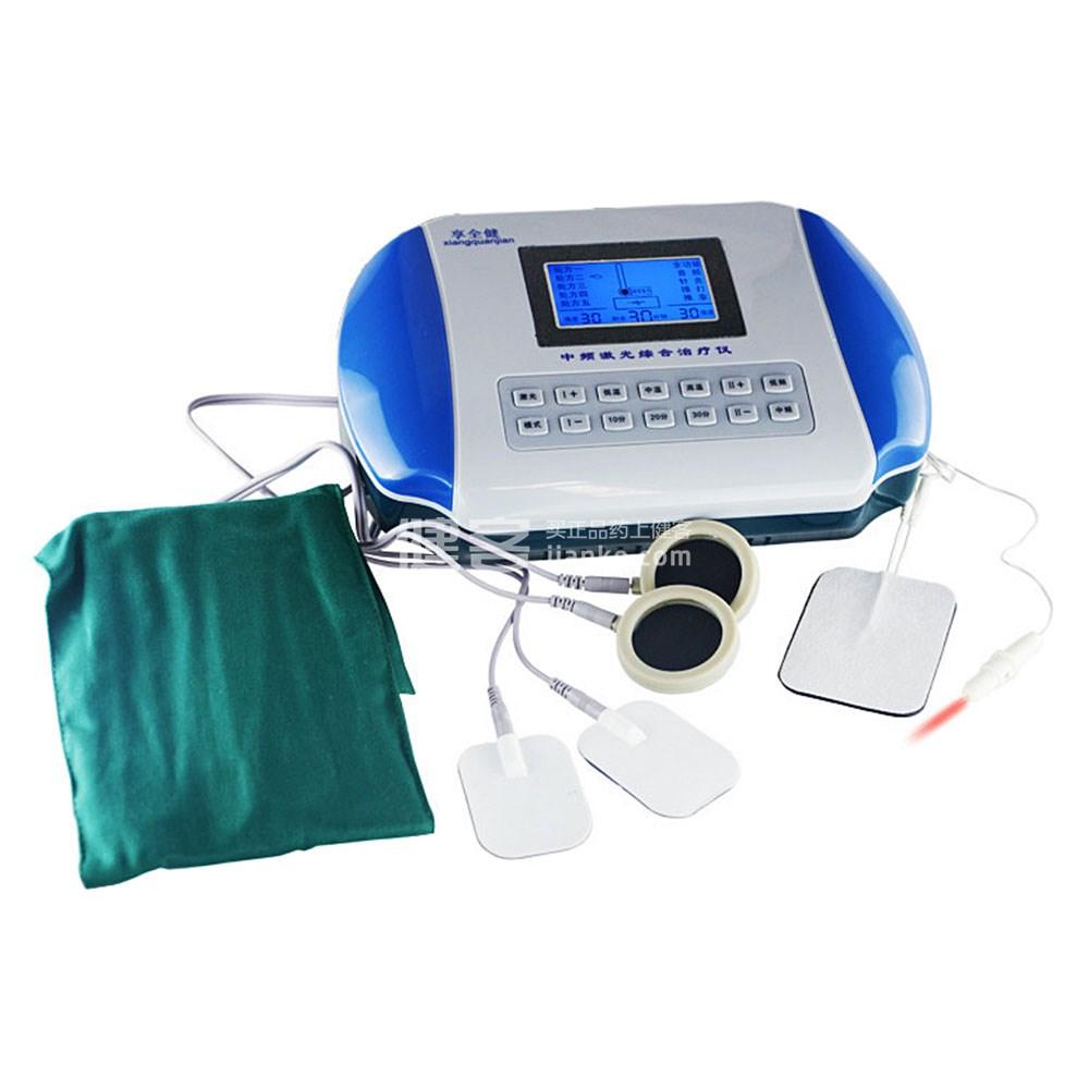 ????zn?9?9f?x?_享全健家用多功能中频治疗仪zn-3型xk标配+电疗拔罐一