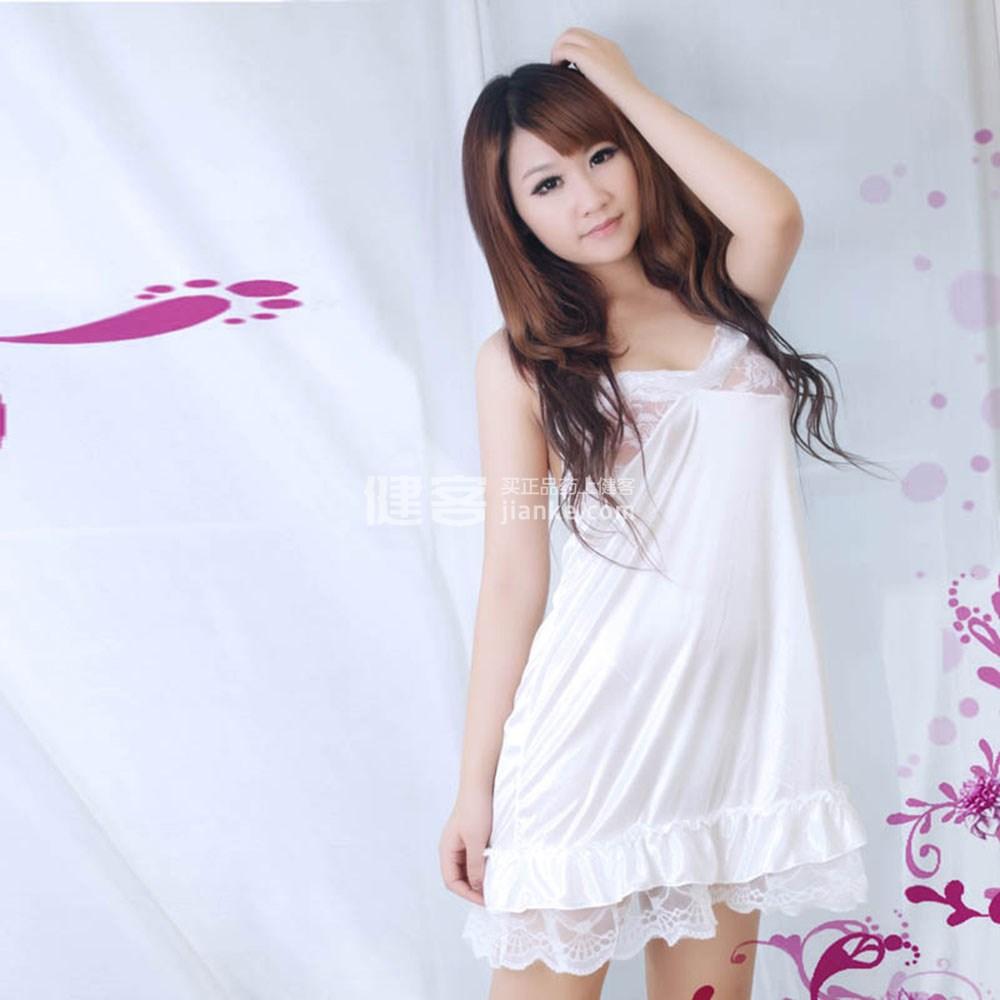 圣菲情趣情趣内衣视频v情趣格儿性感(7008白色)内衣写真短裙的情趣求图片