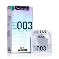 冈本避孕套(日本进口)-0.03系列-白金超薄-10只